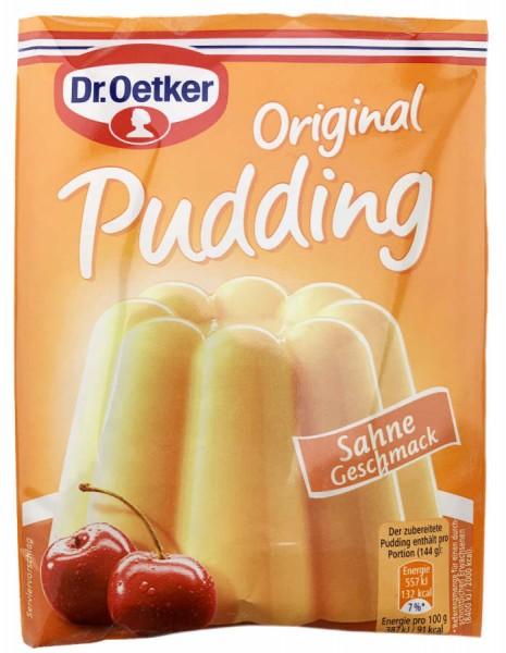 Dr. Oetker® Original Pudding Sahne Geschmack 3er Pack 111g