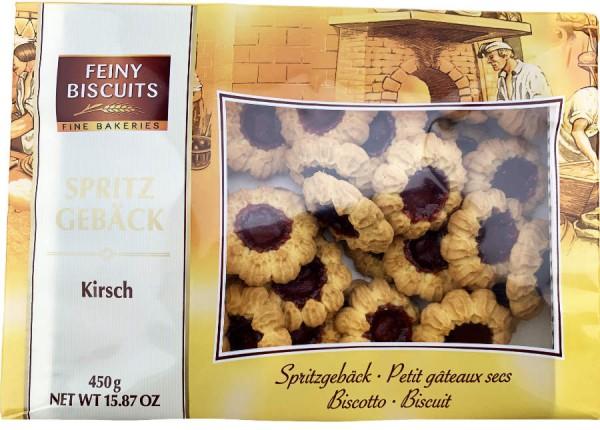 Fine Biscuits Spritzgebäck mit Kirschgeschmackfüllung 450g