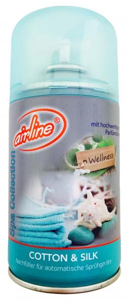 Airline Wellness Cutton Silk Duftspray Nachfüller für Sprühgeräte
