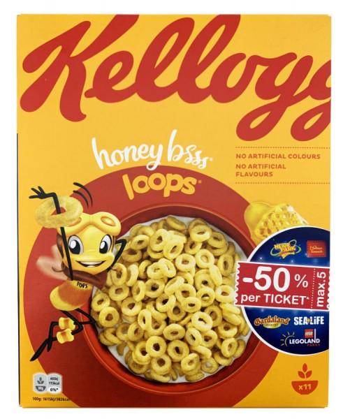 Kelloggs Honey Bsss Loops 330g