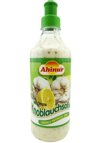 Ahinur Knoblauchsauce mit Zitrone 500ml