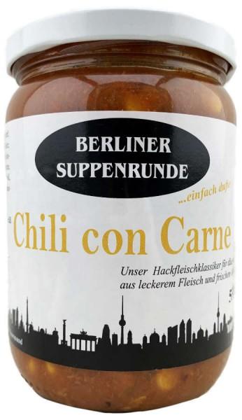 Berliner Suppenrunde Chili con Carne 550ml