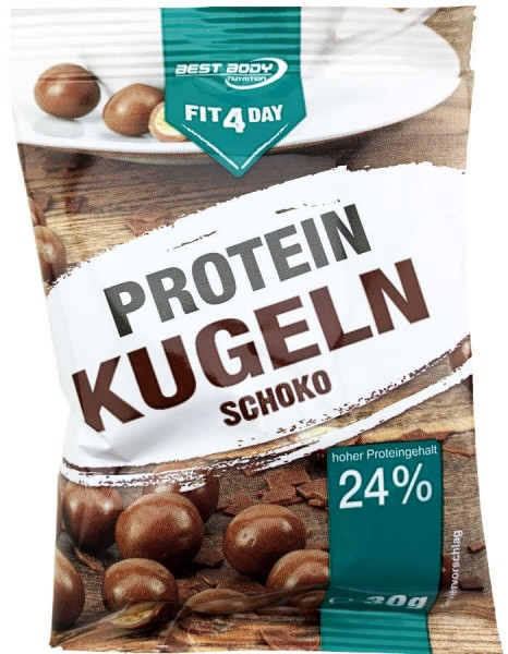 Fit 4 Day Protein Kugeln Schoko 30g