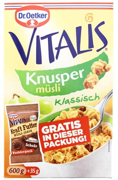 Vitalis Knuspermüsli Klassisch 600g