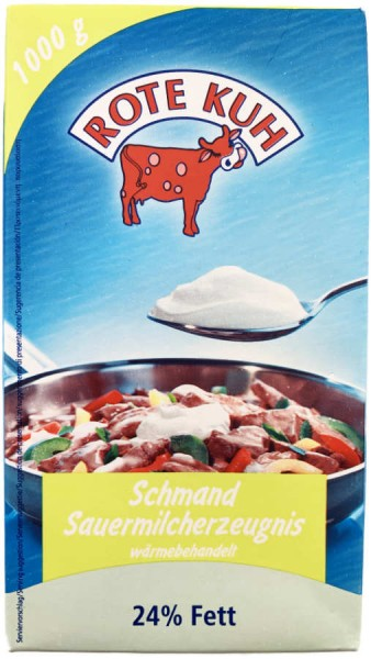Rote Kuh Schmand 24% 1000g