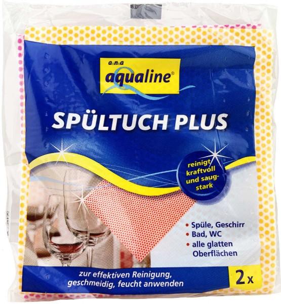 Aqualine Spültuch Plus 2er Pack