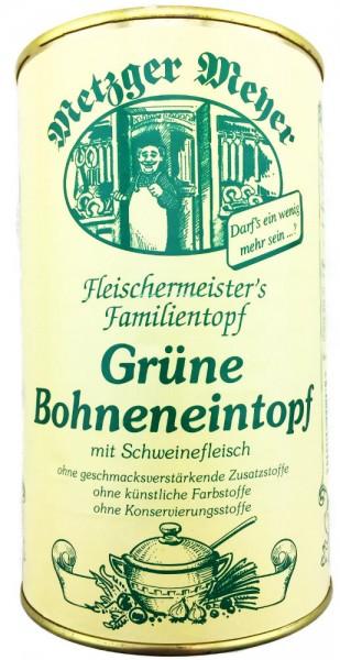 Fleischermeisters Grüne Bohnen Eintopf mit Schweinefleisch 1160g