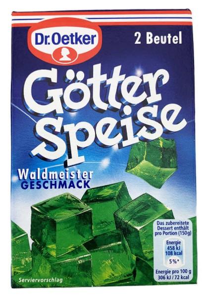 Dr. Oetker® Götterspeise Waldmeistergeschmack 2 Beutel 23,4g