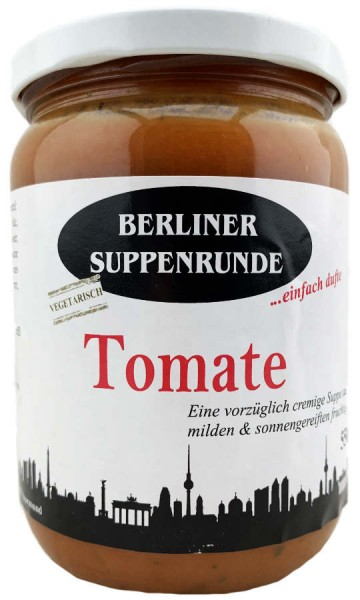 Berliner Suppenrunde Tomatensuppe 550ml