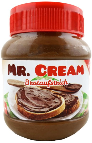 Mr.Cream Brotaufstrich Kakao 400g