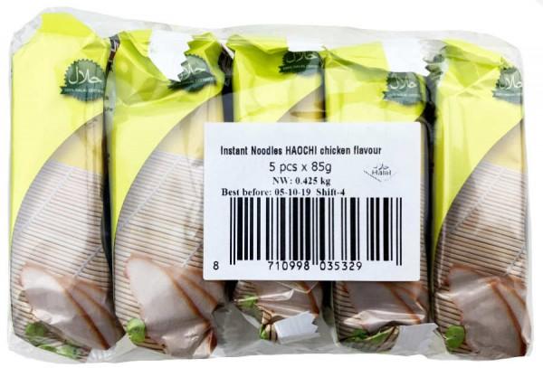 Instant Nudeln mit Chicken Flavour 5er Pack 425g