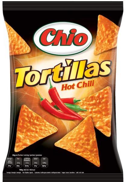 Chio Chips Tortillas Hot Chili 125g