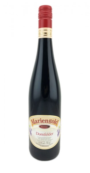 Mariengold Dornfelder Rotwein 0,75L 6er Karton