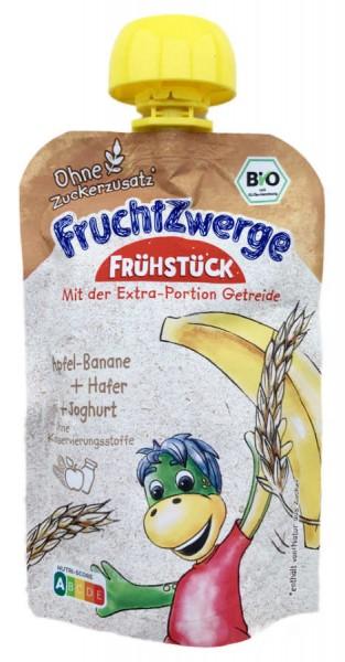 Danone FruchtZwerge Quetschi Apfel Banane Hafer und Joghurt 90g
