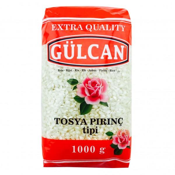 Gülcan Tosya Pirinc tipi Rundkorn Reis 1000gr