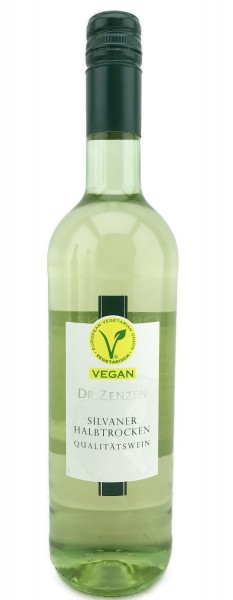 Silvaner Weißwein Vegan Halbtrocken 0,75L 6er Karton