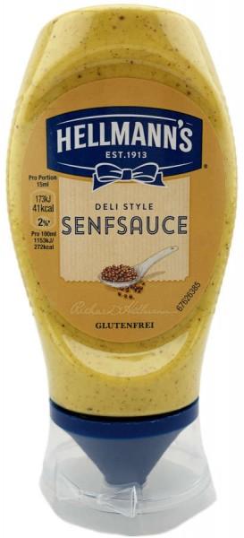 Hellmanns Deli Style Senf Sauce 257g