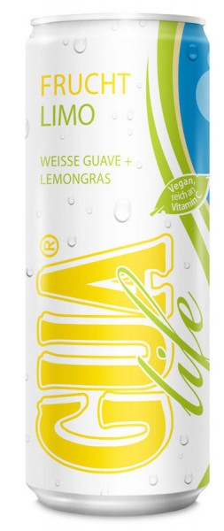 Gua life Frucht Limo Weisse Guave und Lemongras 330ml Dose
