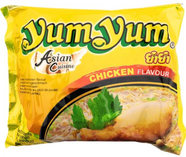 Yum Yum Instatnt Nudelsuppe Chicken Huhn 60g Beutel Orientalisch