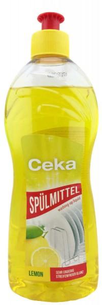 Ceka Spülmittel Citrus 500ml Hocheffizient