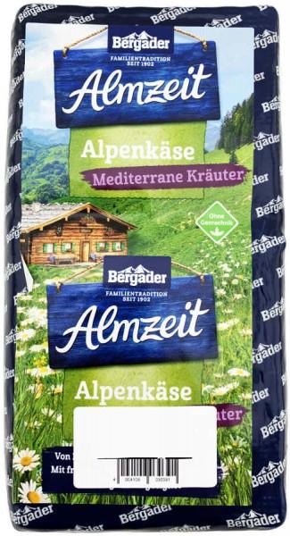 Bergader Almzeit Käselaib Mediterrane Kräuter ca 1600g