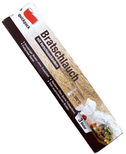 Quickpack Bratschlauch 3m extra breit