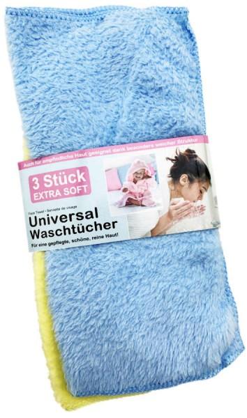 Universal Waschtücher 3er