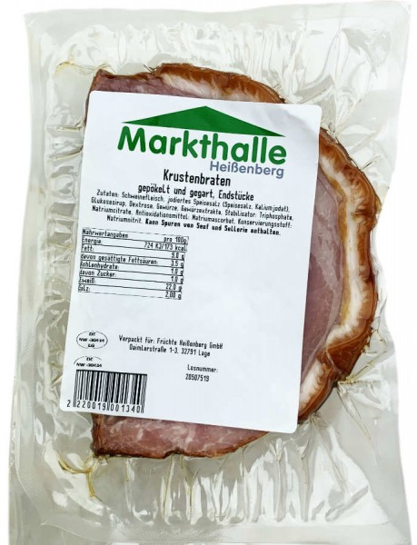 Markthallen Krustenbraten Endstücke ca 330g