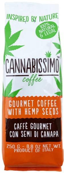 Cannabissimo Kaffee mit Hanf Samen 250g