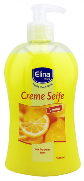 Elina Creme Seife Lemon 500ml