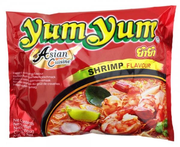 Yum Yum Instatnt Nudelsuppe Shrimp Garnelen 60gr Beutel Orientalisch