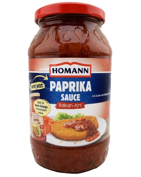 Homann Paprika Sauce Balkan Art 500ml