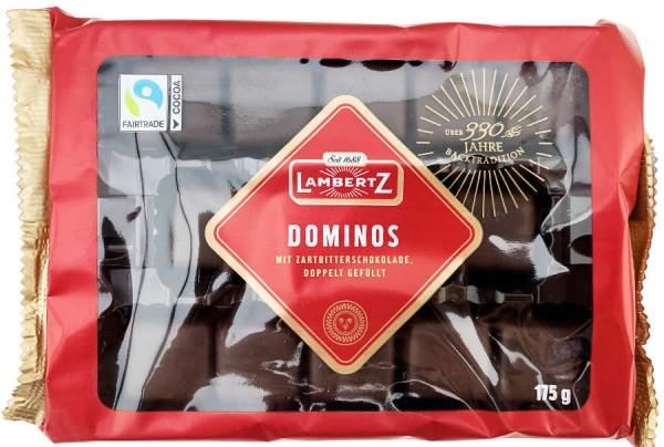 Lambertz Dominos mit Zartbitterschokolade 175g