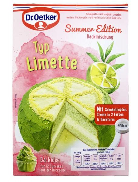 Dr. Oetker® Summer Edition Limette Backmischung 245g
