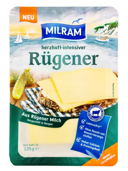 Milram Rügener Käse herzhaft intensiv 125g