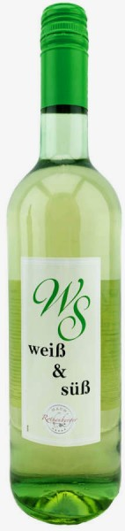 Weiß und Süß Weißwein 750ml