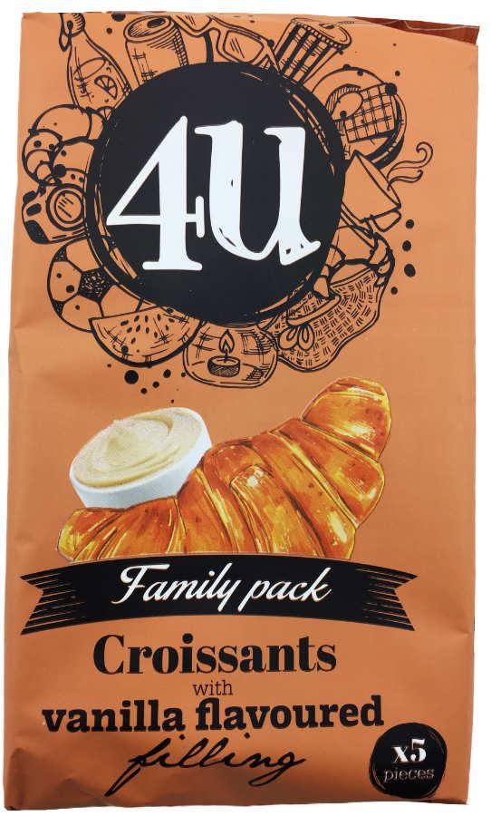 gefullte croissants mit vanille 400g