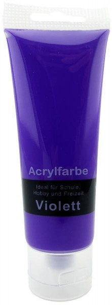 Acrylfarbe Violett 75ml