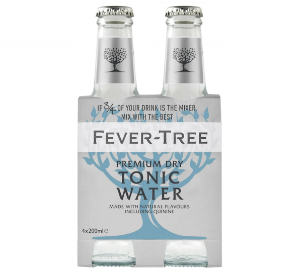 Fever Tree Premium Dry Tonic Water 4x0,2L