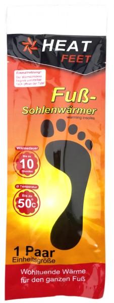 Heat Feet Fußsohlenwärmer Wärmekissen 2er Set