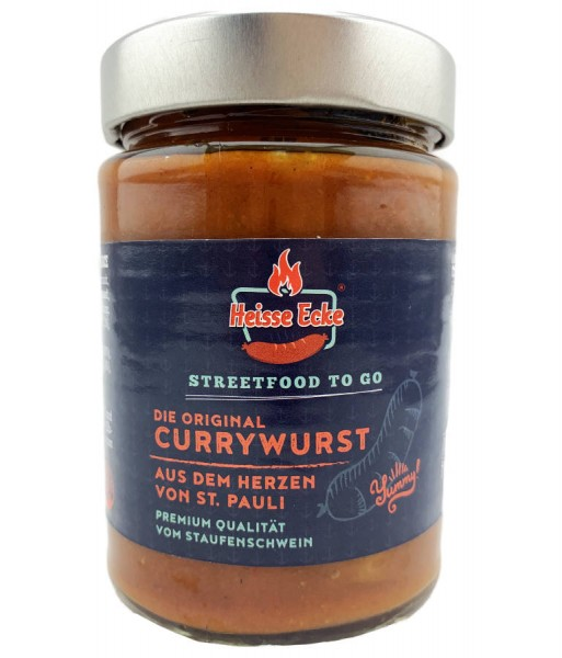 Currywurst im Glas 300g