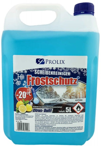 Scheibenreiniger Frostschutz -20 Grad 5L