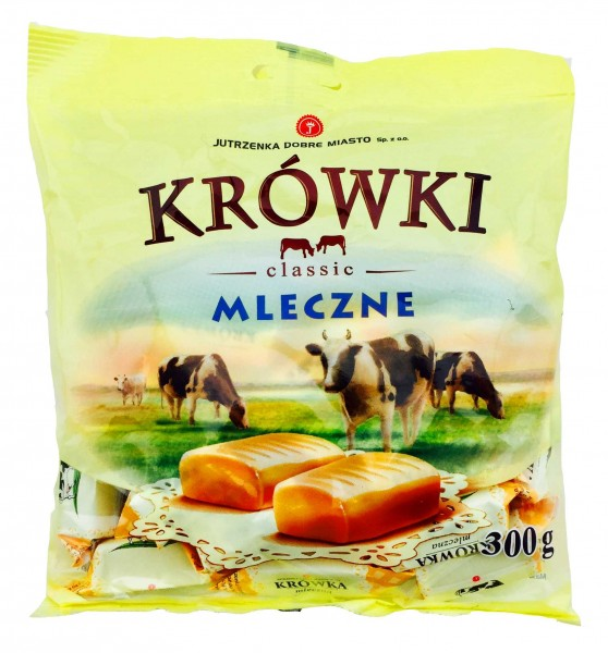 Krowki Milchkaramellen Karamellbonbons Tesco 300gr