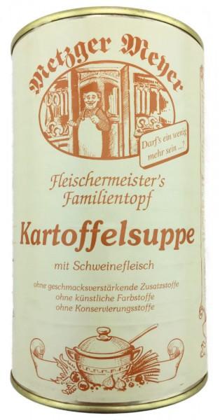 Fleischermeisters Kartoffelsuppe mit Schweinefleisch 1160g