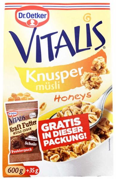 Vitalis Knuspermüsli Honeys 600g