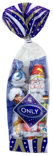 Only Milchschokolade Weihnachtsmann Mischung 100g