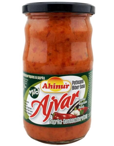 Ahinur Ajvar Paprika Zubereitung Mild 690g