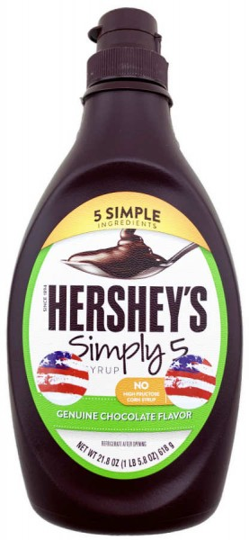 Hersheys Simply 5 Schokoladensauce 455ml