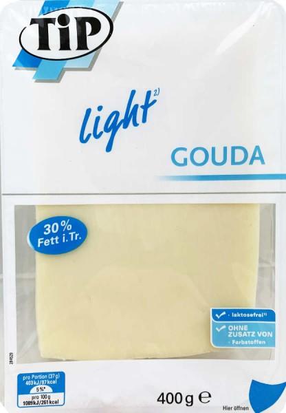 Gouda Light Käsescheiben 400g