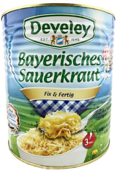 Develey Bayerisches Sauerkraut Fix und Fertig XXL 9200g